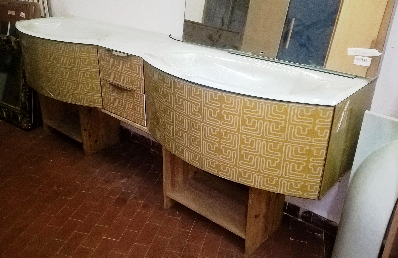 Arredo bagno arancione qin 1 u2013 mercatino dellusato